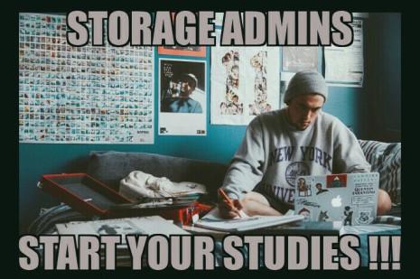 Storage Admin Memes